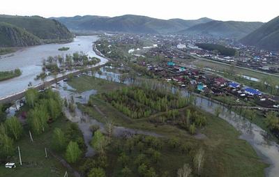 Алтайскому селу Чарышское угрожает подтопление