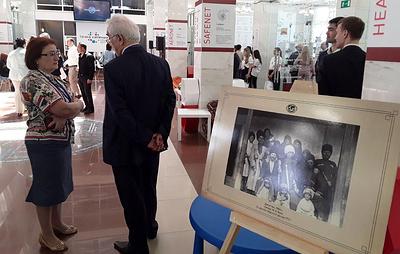 """РГО открыло выставку этнографии кавказских народов в """"Точке кипения"""" в Нальчике"""