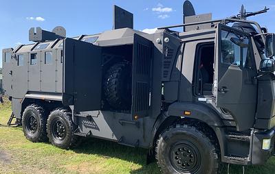 """Бронеавтомобиль """"Горец-ССН"""" для спецназа Росгвардии впервые представили публике"""