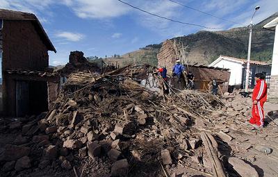 В Перу произошло землетрясение магнитудой 7,5
