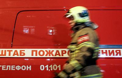 Под Екатеринбургом горит исправительная колония