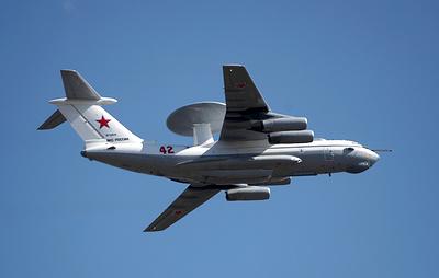 Самолеты А-50 отследят воздушную обстановку над Черным морем на фоне учений НАТО