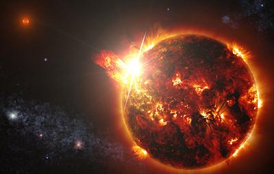 Астрономы впервые зафиксировали корональный выброс не у Солнца, а у другой звезды