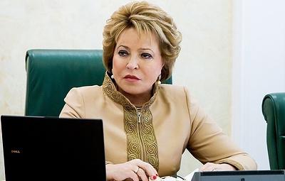 Матвиенко сообщила, что Чайка гарантировал личный контроль за делом Голунова