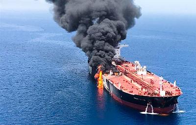 Посольство РФ в Иране подтвердило спасение 11 россиян с загоревшегося танкера