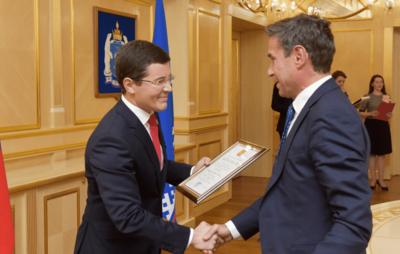 Губернатор Ямала и вице-президент Total обсудили сотрудничество региона и компании
