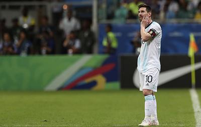Месси заявил, что сборной Аргентины нужно поскорее забыть о поражении от колумбийцев