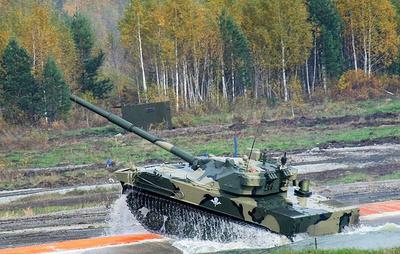 """Новый плавающий танк создается в России на базе самоходной пушки """"Спрут"""""""