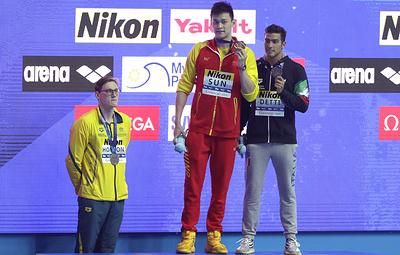 Австралийский пловец Хортон бойкотировал фотосессию с победителем ЧМ Сунь Яном