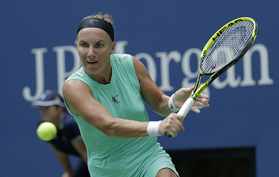 Россиянка Кузнецова вышла во второй круг теннисного турнира в Торонто