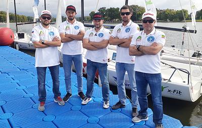 """Сборная Чечни """"Ахмат"""" начала борьбу за Кубок Национальной парусной Лиги"""