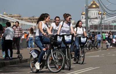 Более 3 млн поездок совершили в московском велопрокате за половину сезона