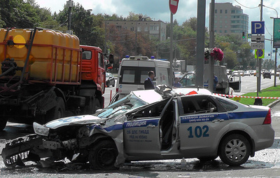 В Москве после гибели полицейского в ДТП возбуждено уголовное дело