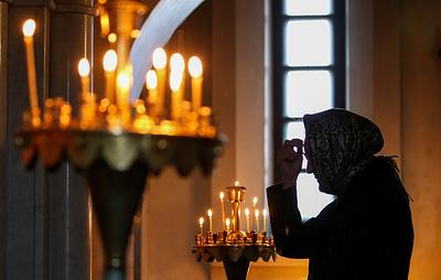 Православные христиане встречают праздник Преображения Господня