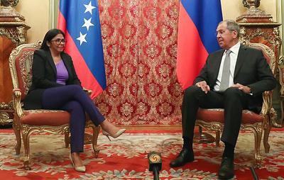 Лавров пообещал, что Россия будет противодействовать давлению на Венесуэлу