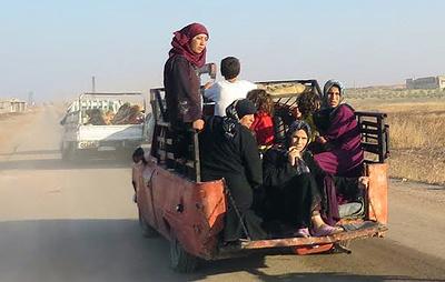Сирийские власти открыли гуманитарный коридор в провинции Хама