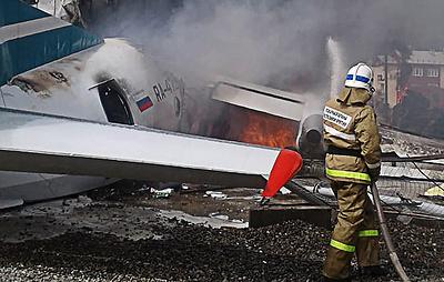 В полпредство в СФО не поступали наградные материалы по экипажу аварийно севшего Ан-24