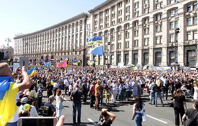 На Украине в новом формате отпраздновали день независимости