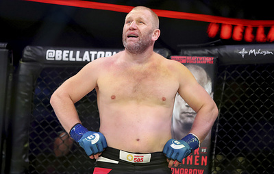 Российский боец Харитонов нокаутировал американца Митриона на турнире в США