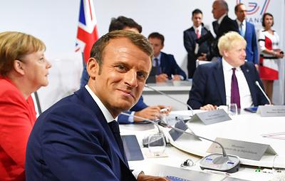 """AFP: лидеры G7 предложили Макрону вести переговоры с Ираном от имени """"семерки"""""""