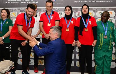 Египетские шахматисты победили в смешанном турнире по рапиду на Африканских играх