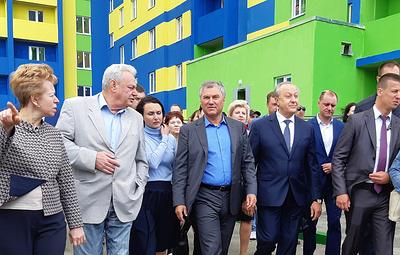 В Саратове завершили строительство дома для жильцов бараков за счет благотворителей