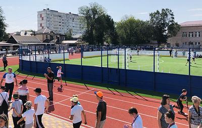 Всесезонный ФОК открылся в КЧР в рамках празднования Дня республики