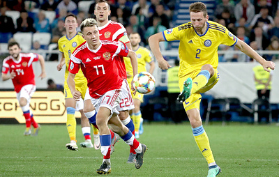 Головин был уверен, что футболисты сборной России смогут забить команде Казахстана