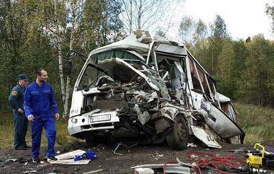 В МЧС уточнили количество погибших в ДТП с автобусом в Ярославской области