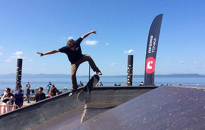 Скейт, BMX и самокат. Дальневосточная молодежь собралась на экстрим-фестивале в Приморье
