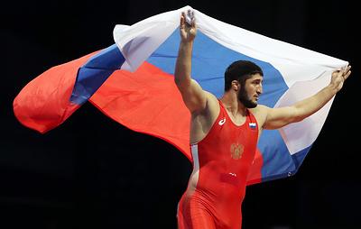 Российские борцы выиграли общекомандный зачет чемпионата мира
