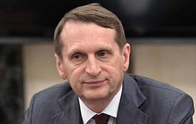 Нарышкин назвал чушью заявления о слежке за ФБР из объектов посольства РФ в США