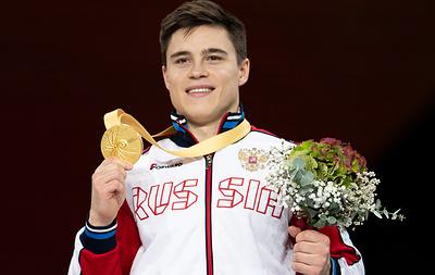Гимнаст Никита Нагорный: на соревнованиях показываем, что мы — Россия и мы сильные