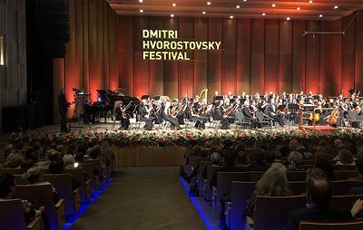 Фестиваль имени Хворостовского открылся в Красноярске в день рождения певца