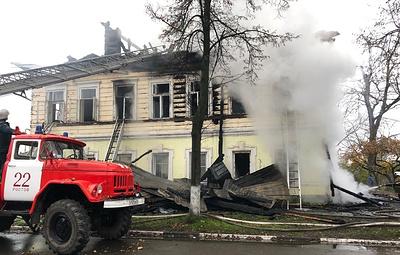 Случаи массовой гибели детей при пожарах в России