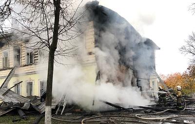 При пожаре под Ярославлем погибли пятеро детей