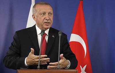 Эрдоган назвал условие продолжения операции в Сирии