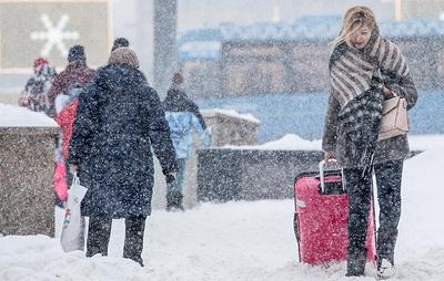 В трех регионах Сибири ожидается гололед, усиление ветра и метель