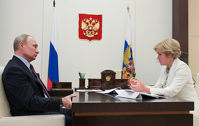 Путин обсудил с Голодец вопросы господдержки отечественного кинематографа