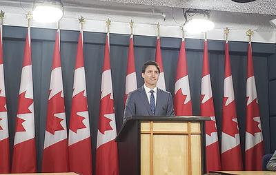 Трюдо сформирует новое правительство Канады к 20 ноября