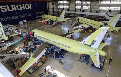 """""""Ведомости"""": поставки Superjet 100 могут упасть до минимума с 2012 года"""