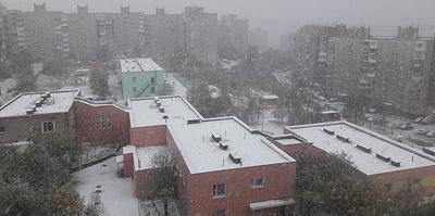 Снег, туман, гололед. На Россию наступают холода