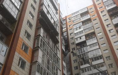 В Томске произошел пожар в многоэтажном доме
