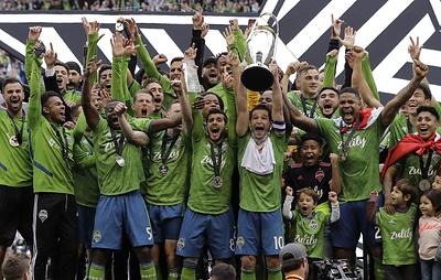 """""""Сиэтл"""" во второй раз стал чемпионом MLS"""