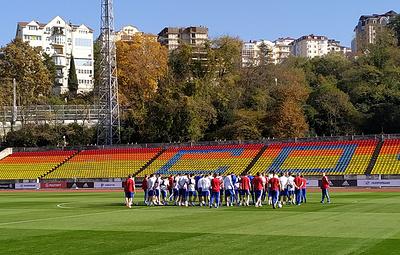 Сборная России по футболу готовится к ноябрьским матчам отбора ЧЕ-2020 в полном составе
