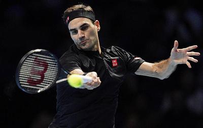 Федерер победил Берреттини в матче Итогового турнира АТР