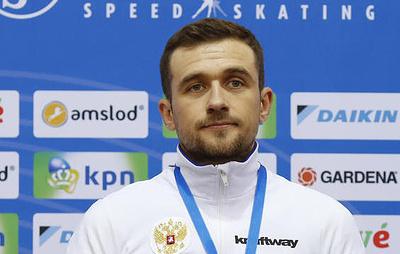 Юсков стал вторым на дистанции 1500 м на этапе КМ по конькобежному спорту в Минске