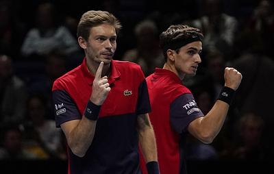 Французы Эрбер и Маю стали победителями Итогового турнира ATP в парном разряде