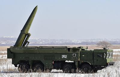 """Минобороны пообещало ракетному соединению ЗВО поставку бригадного комплекта """"Искандер-М"""""""