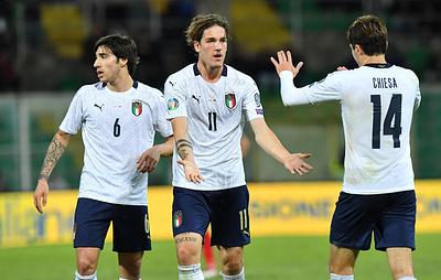 Сборная Италии по футболу нанесла команде Армении самое крупное поражение в истории